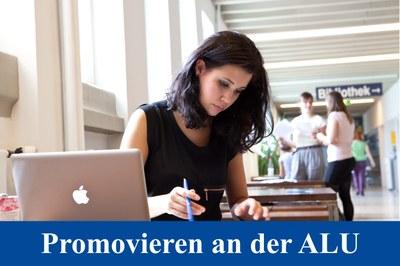 Promovieren an der ALU