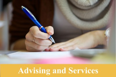 Advising and Services